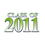 Class of 2011 Green T-shirts and gifts