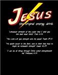 Jesus Energy Drink- dark