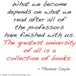 Carlyle on Books