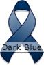 Dark Blue Ribbon