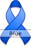 Blue Ribbon for Arthritis Awareness