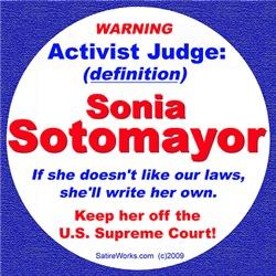 Sotomayor Activist Judge
