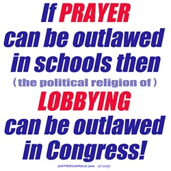 No Prayer No Lobbying