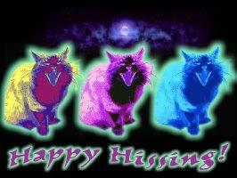 Happy Hissing Halloween Trio