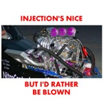 TOP FUEL BLOWN RACE CAR