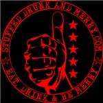 Red Full Marks Logo