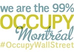 Occupy Montréal T-Shirts