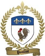 POULIOT Family Crest