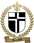 AUCOIN Family Crest