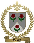 DOIRON Family Crest