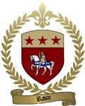 RAUX Family Crest