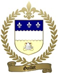 GUILLOT Family Crest Crest
