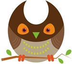 Brown Woodland Owl