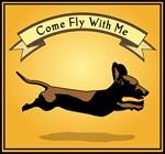 Flying Wiener Dog