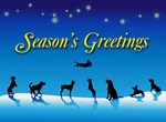 Doggy Season's Greetings