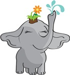 Elephant gardener