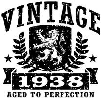 Vintage 1938 t-shirt
