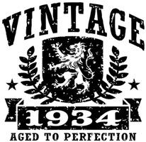 Vintage 1934 t-shirt