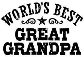 World's Best Great Grandpa t-shirts