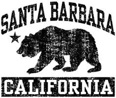 Santa Barbara Ca t-shirts