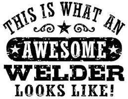Awesome Welder t-shirts