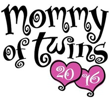 Mommy of Twins 2016 t-shirt