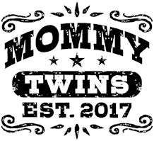 Mommy Twins Est. 2017 t-shirts