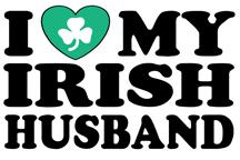 I Love My Irish Husband t-shirts
