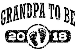 Grandpa To Be 2018 t-shirt