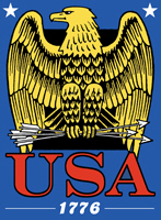 USA Eagle 1776 t-shirt
