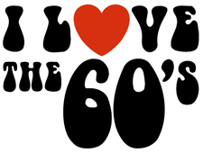 I Love the 60's t-shirts