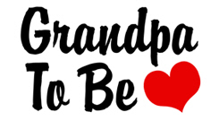Grandpa To Be t-shirts
