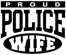 Proud Police Wife t-shirt