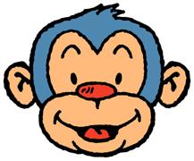 Blue Monkey T-Shirts