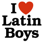 I Love Latin boys t-shirts