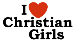 I love Christian Girls t-shirt