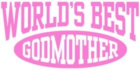 World's Best Godmother t-shirt