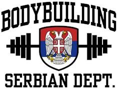 Serbian Bodybuilder t-shirt