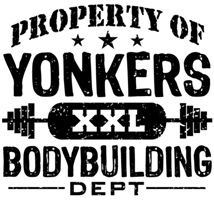 Property of Yonkers Bodybuilding t-shirts