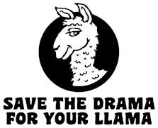 Drama Llamas t-shirt