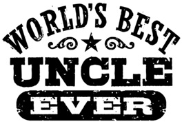 World's Best Uncle Ever t-shirts