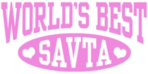 World's Best Savta t-shirts