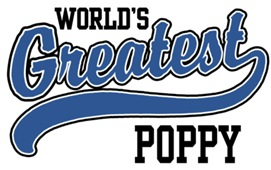 World's Greatest Poppy t-shirts