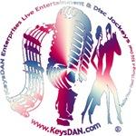 KeysDAN Logo (Red White Blue Contrast)