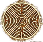 Brown Bayeux Cathedral Labyrinth