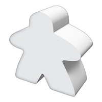 White Meeple Shirts and Gifts