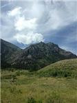 Alberta Mountain Landscape