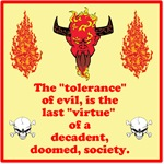 Tolerance of Evil