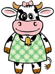 Dressed Up Cow