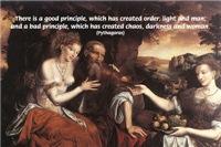 Women Philosophy Pythagoras: Renaissance Art